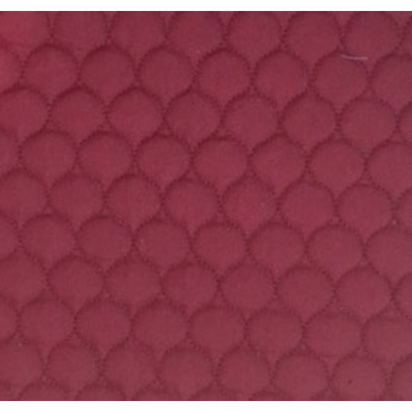 505 Maroon Polycotton Single Sided Quilt W148cm