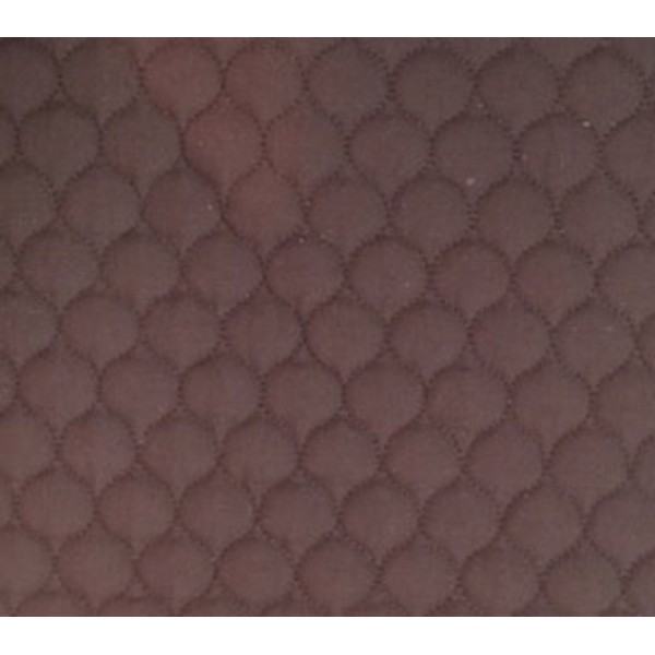506 Brown Polycotton Single Sided Quilt W148cm