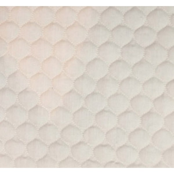 509 Cream Polycotton Single Sided Quilt W148cm