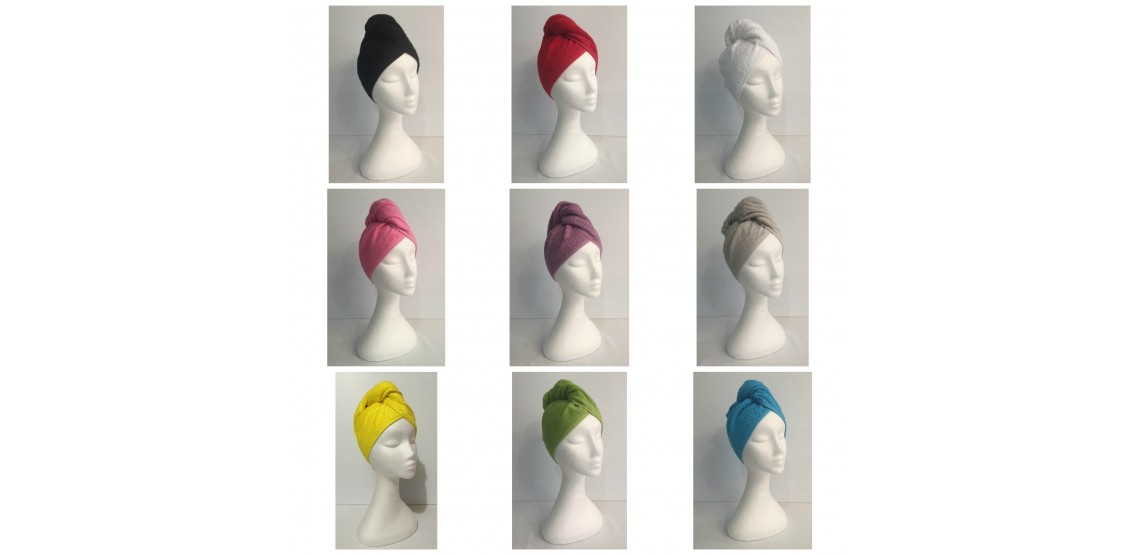 Twist Terry Hair Wraps