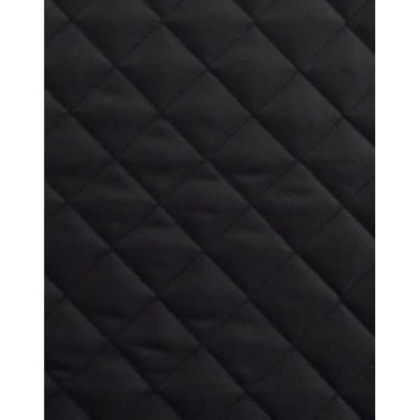 106 Black Oxford Double Sided Waterproof Treated Quilt W180cm