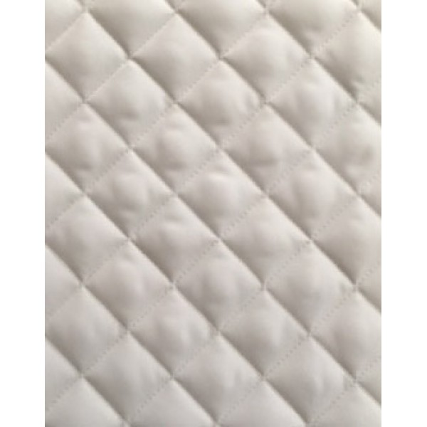 104 White Oxford Double Sided Waterproof Treated Quilt W148cm