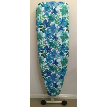 IBC13 - Ironing Board Covers - Standard - Blue Floral Boutique
