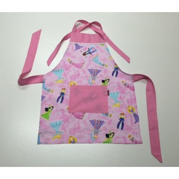 KA08 - Kids Aprons - Pretty Princesses
