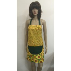 LA22 - Ladies Aprons - Yellow Sunflower