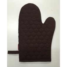 OMO15 - Oven Mitts - Oyster Brown Quilt