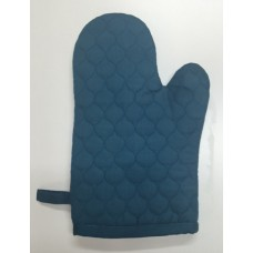 OMO20 - Oven Mitts - Oyster Teal Quilt