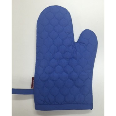 OMO21 - Oven Mitts - Oyster Blue Quilt