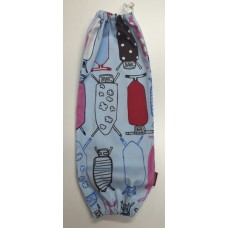 PBH01 - Plastic Bag Holder - Lots of Funky Ironing Board Prints