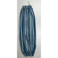 PBH18 - Plastic Bag Holder - Teal Stripes