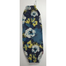 PBH24 - Plastic Bag Holder - Floral Denim