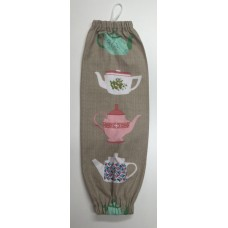 PBH26 - Plastic Bag Holder - Tea Time
