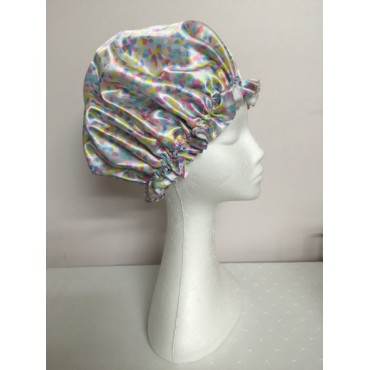 Satin Shower Cap - Candy Colours
