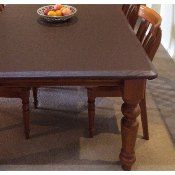 fitted padded table protectors - proudly australian made. water