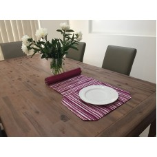 TR03 - Table Runners - Fuchsia Stripes