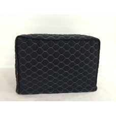 TC07 - Toaster Covers 2 & 4 Slice - Black with White Stitching