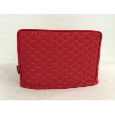 TC03 - Toaster Covers 2 & 4 Slice - Red with White Stitching