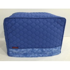 TC18 - Toaster Covers 2 & 4 Slice - Blue Quilt with Blue Trim