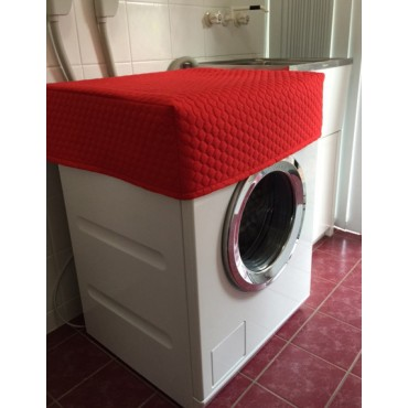 WM01 - Washing Machine &  Clothes Dryer Covers - Standard - Red