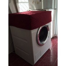 WM01 - Washing Machine &  Clothes Dryer Covers - Standard - Maroon