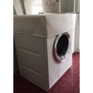 WM01 - Washing Machine &  Clothes Dryer Covers - Standard - White